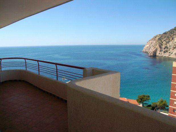 Appartement met zeezicht en op loopafstand van de baai van la Cala de Finestrat. Het appartement beschikt over  1 slaapkamer en ruim terras op het zuidwesten. Uitstekend verhuurobject!