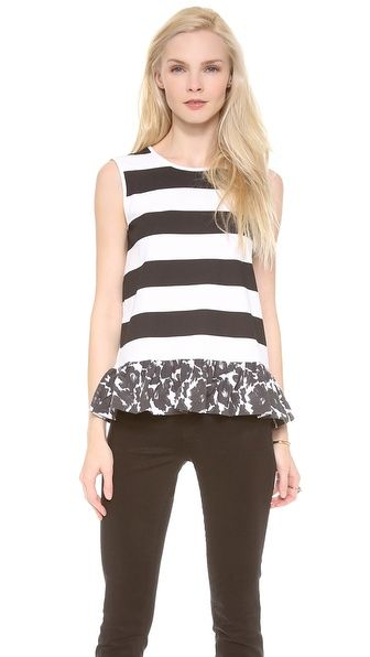 Mother of Pearl Top, $133 (more of the best Memorial Day sales --> http://chicityfashion.com/memorial-day-sales/)