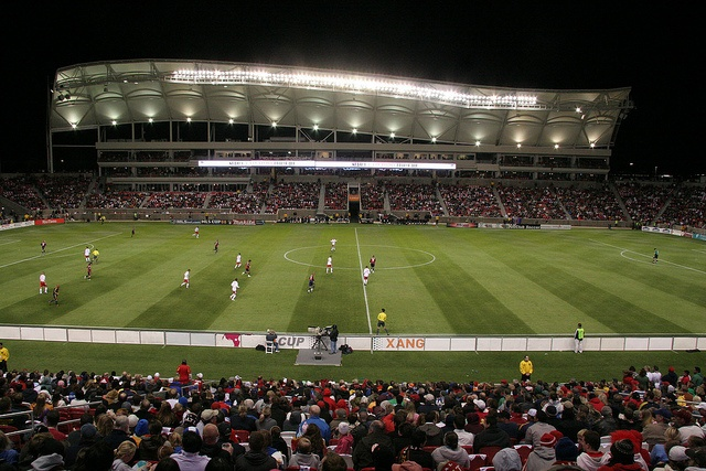 One of the best views in all of sports. Rio Tinto Stadium in Sandy Utah