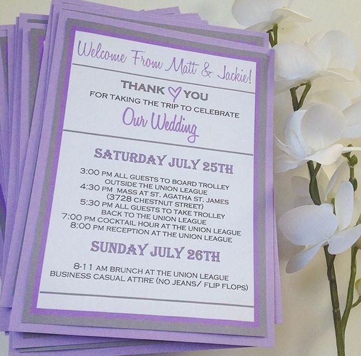 Best 25 Destination wedding itinerary ideas – Destination Wedding Thank You Card Wording