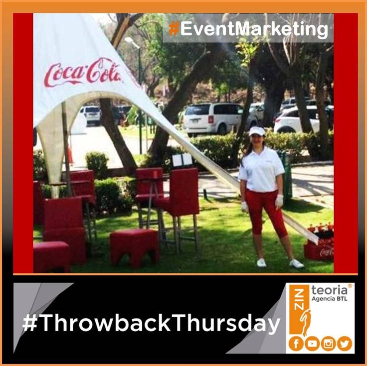 #TBT #ThrowbackThursday Activación para Coca-Cola   #Edecania #Golf ⛳️🏌 #EventMarketing  #Advertising
