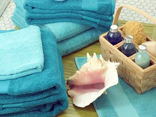 Dabble in Watercolors - Get a Breezy, Island-Inspired Bath  on HGTV