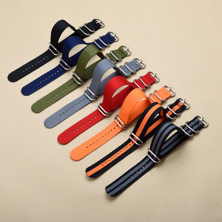 New 5 Ring Watchband Military Quality Nylon ZULU NATO 16mm 18mm 20mm 22mm 24mm G10 Watch Strap Black Multiple color selection #>=#>=#>=#>=#> Click on the pin to check out discount price, color, size, shipping, etc. Save and like it!