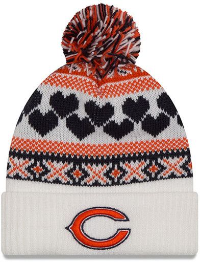 fbfd7205fd9 New Era Cap Winter Cutie Chicago Bears Beanie