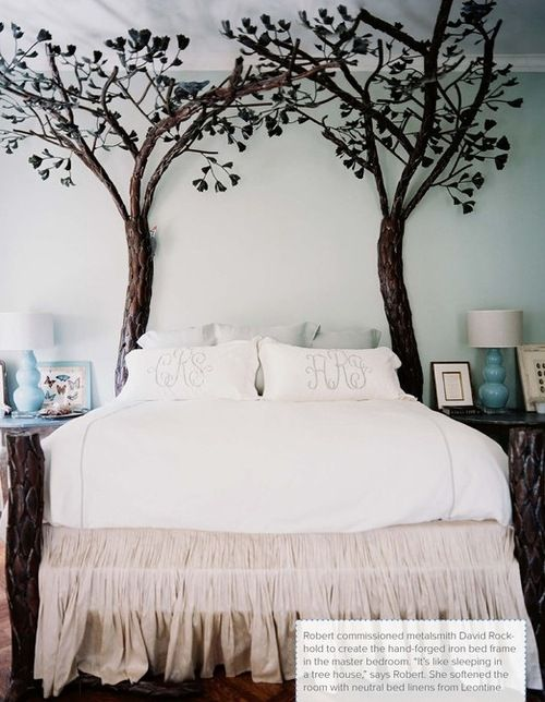 back to nature | poster bed | great for kids room, teen girls room