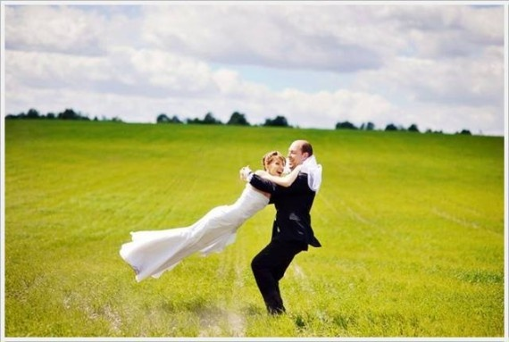 creating a wedding album