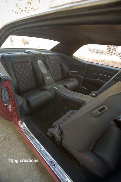 custom interior for 69 camaro