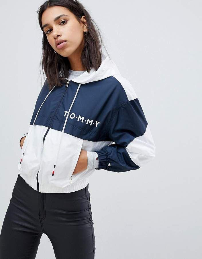 Tommy Hilfiger Windbreaker Jacket Tommy Hilfiger Windbreaker Tommy Hilfiger Fashion Tommy Hilfiger Outfit