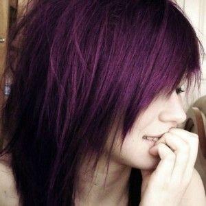 purple tinted hair - Google Search