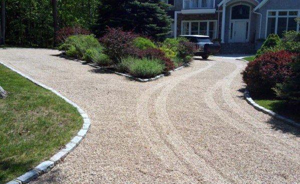 Top 60 Best Gravel Driveway Ideas Curb Appeal Designs Gravel