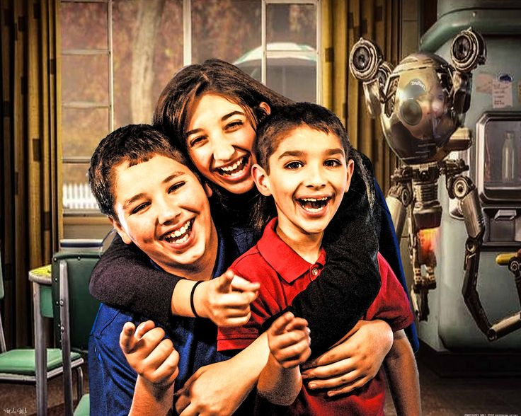 My Kids with Fallout Four's Codsworth- My Concept Art