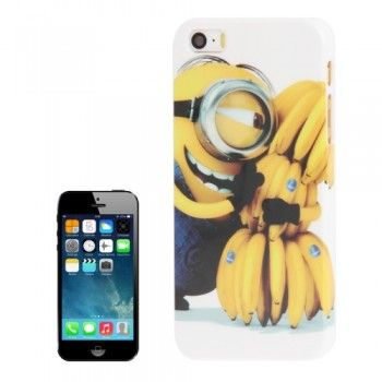 Minions Banana Pattern iPhone 5 & 5S Case