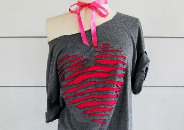 old t shirt craft ideas surely every girl has one or two shirts t shirt - T Shirt Design Ideas Cutting