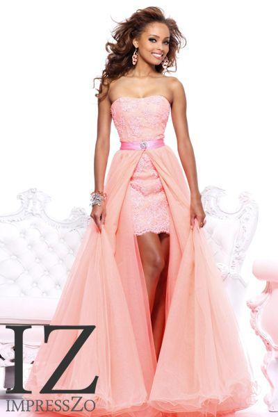 Pink party dress ImpressZo