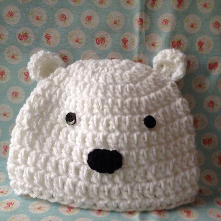 Osito polar crochet