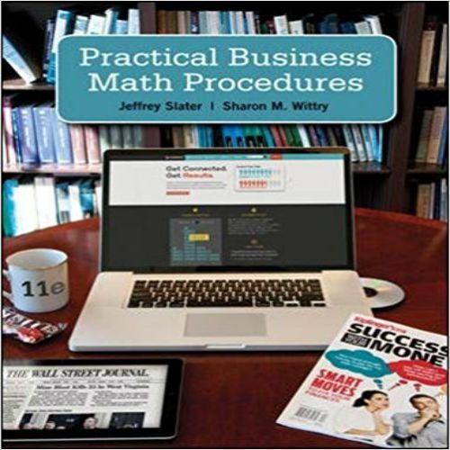 68 best solution manual images on pinterest solution manual for practical business math procedures 11th edition by slater and wittry fandeluxe Gallery