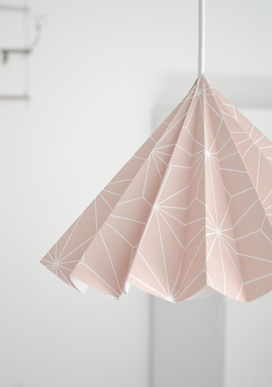 DIY lampshade / origami lmap / paper lamp / design lamp