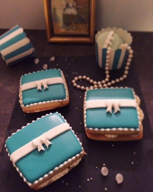 Cookies im Tiffany-Look - Keksseligkeiten - Keksrezepte und Kekse verzieren