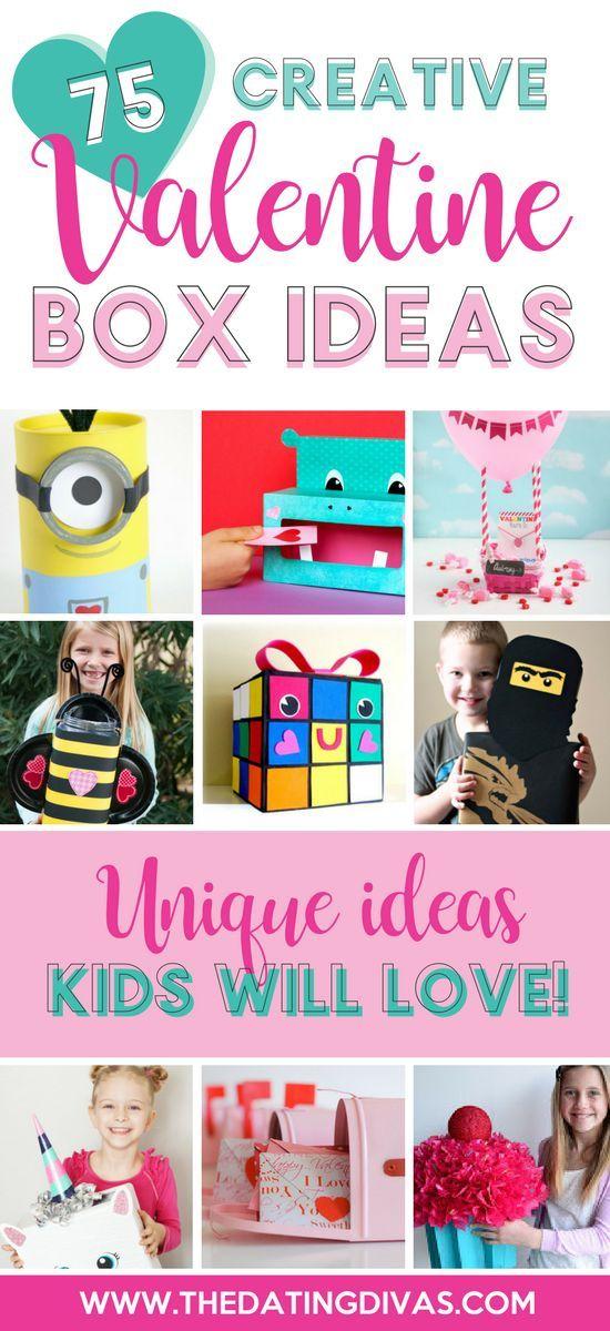 Creative Valentine Box Ideas #valentinecardbox #valentinebox #valentinesday