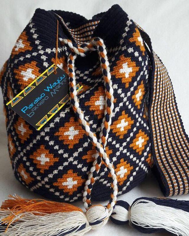Wayuu Mochila bag Pídela decorada o sin decorar, despachos a toda la República Mexicaca #acapulco #bolsa #bolsa #colombiamoda #fashion #guadalajara #lajaibabrava #moda #mujeres #tampico  #wayuu #wayuubags #wayuumochila #wayuulifestyle