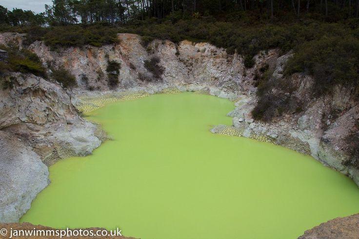 The Devils bath Rotorua NEW ZEALAND NORTH ISLAND
