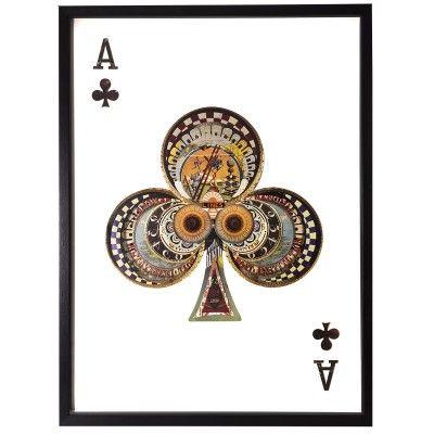 Obraz przestrzenny Ace Clubs 104-9064