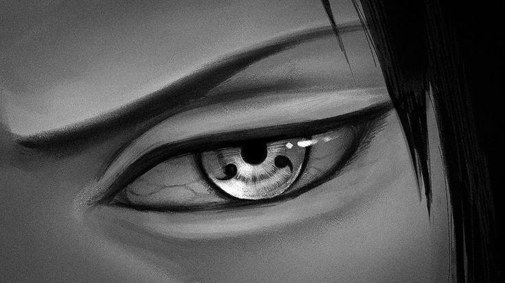 Sasuke Uchiha - Sharingan by hiroshin10 on DeviantArt