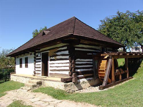 pôvodný dom ,skanzen