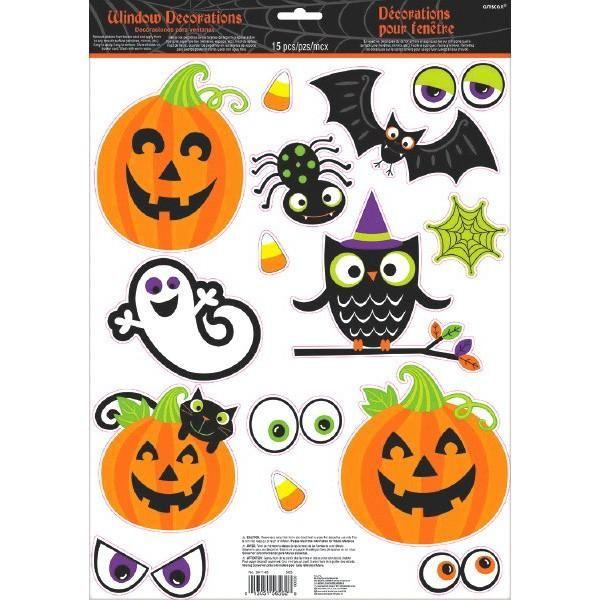 25++ Halloween vinyl window clings ideas