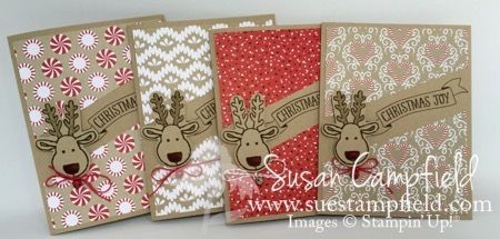 Cookie Cutter Christmas, Cookie Cutter Builder punch, Candy Cane Lane DSP & Baker's Twine, Mini Jingle Bells - Diagonal Cut (video & pictures on blog)