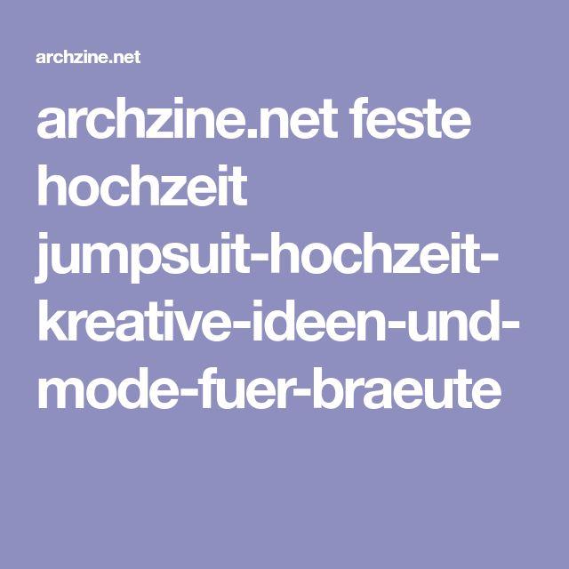 archzine.net feste hochzeit jumpsuit-hochzeit-kreative-ideen-und-mode-fuer-braeute