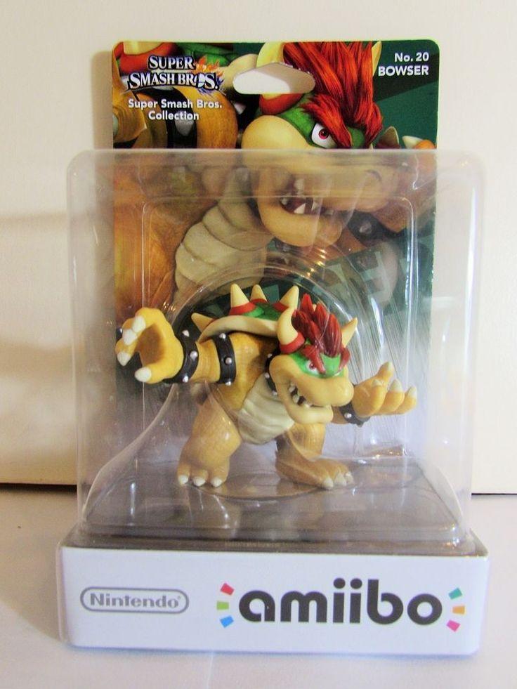 Nintendo Amiibo Super Smash Bros Bowser Brand New Figure