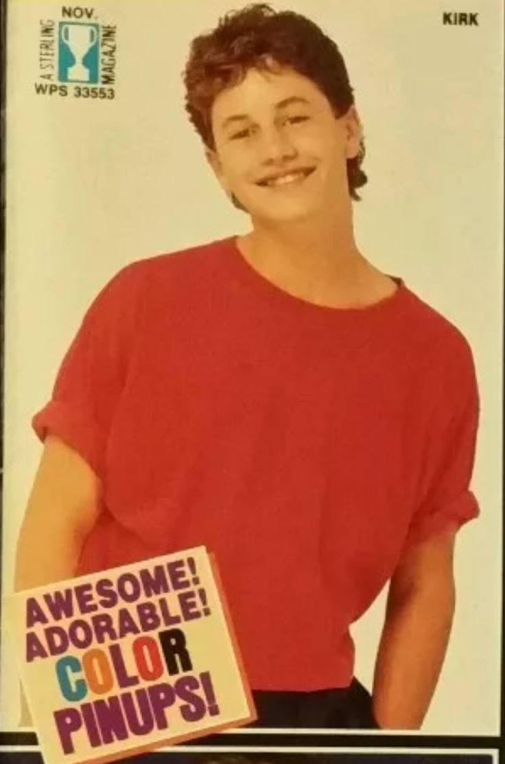 Kirk Cameron in 1985