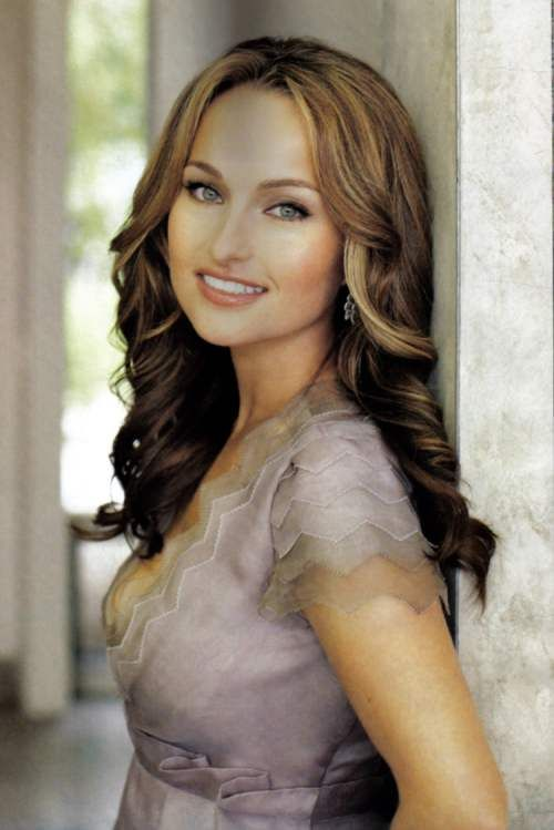 Featuring Giada De Laurentiis. Layered Hair. Clairol Color spokesperson.