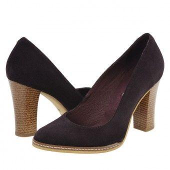 Pantofi casual dama Clarette mov
