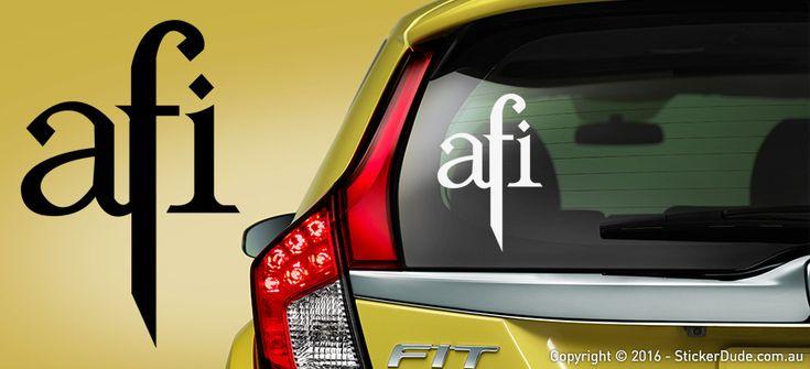 Afi Sticker | Worldwide Post | Range Of Sticker Colours