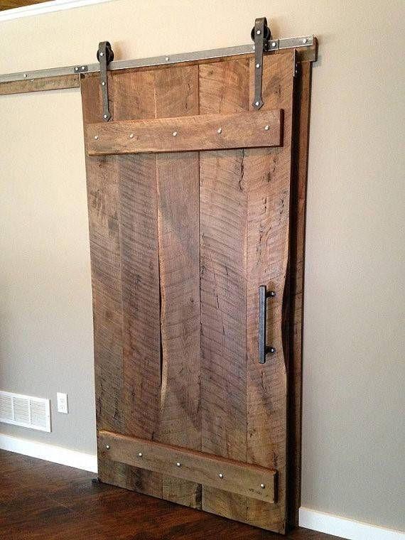 Reclaimed Oak Barndoor In  Bedroom Ideas Pinterest Doors Barn Door Hardware And Sliding Barn Door Hardware