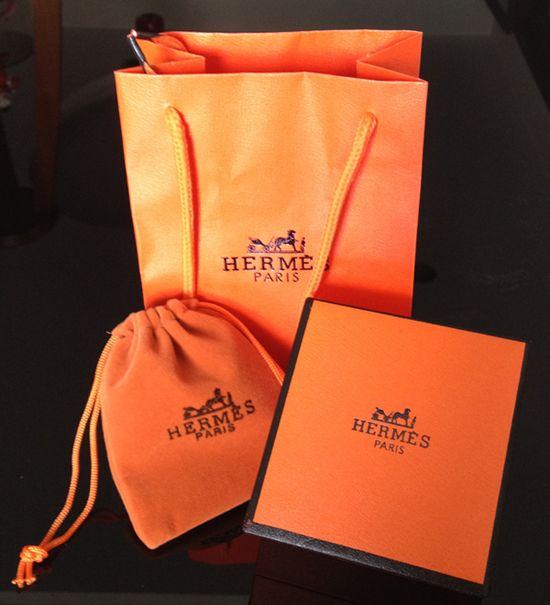 Hermes Box, Shopping Bag and Velvet Pouch