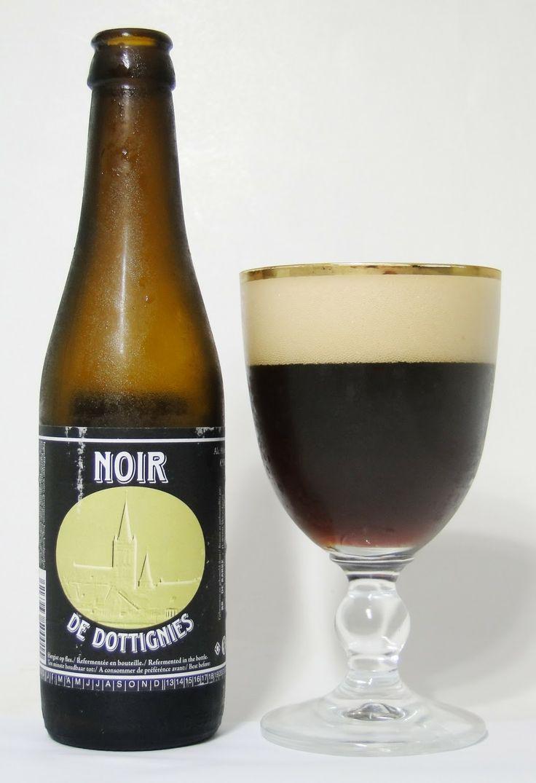 Noir de Dottignies - Brouwerij De Ranke, Dttenijs, België. Beoordeling GGOB: 5,4