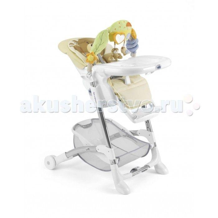 Стульчик для кормления CAM Istante  Стульчик для кормления CAM Istante   CAM Istante - это универсальный и многофункциональный стульчик до 3-х лет в котором реализованы все основные функции, так необходимые маме в повседневных заботах о малыше: регулируемая спинка сиденья с мягкой вставкой для новорожденных, где малыш может комфортно поспать, регулировка высоты, дуга с развивающими игрушками и прочная рама, рассчитанная на долголетнюю эксплуатацию. CAM Istante выполнен в 5-ти многообразных…