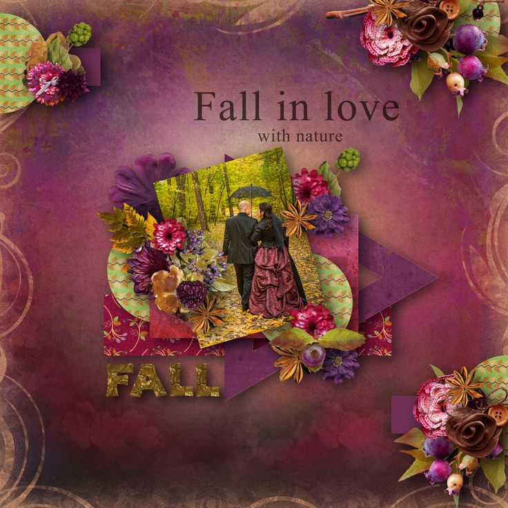 """template by Miss Mel - (BT A Love For Layout Templates), https://www.facebook.com/search/top/?q=miss%20mel,  bundle """"Mum's for Fall"""" by BooLand Designs, photo Pixabay"""