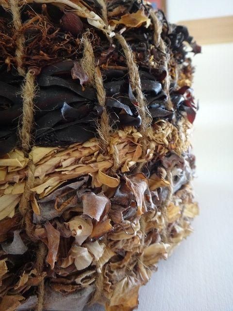 basket made of seaweed