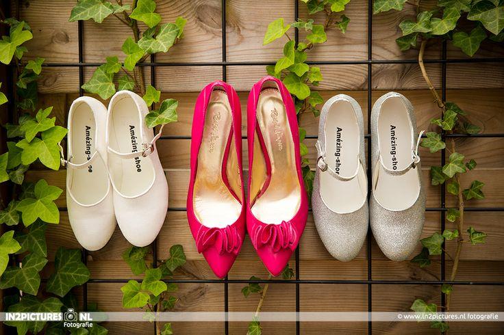 Wedding shoes -  super cute flower girl shoes... Wedding photography  www.in2pictures.nl  Bruidsfotografie - Bruidsschoenen en bruidsmeisjes schoenen, #wedding #marriage #shoes #bruidsfotografie #trouwen fotografie