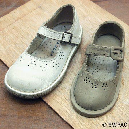 original & clay shoe by Margot - work in progress