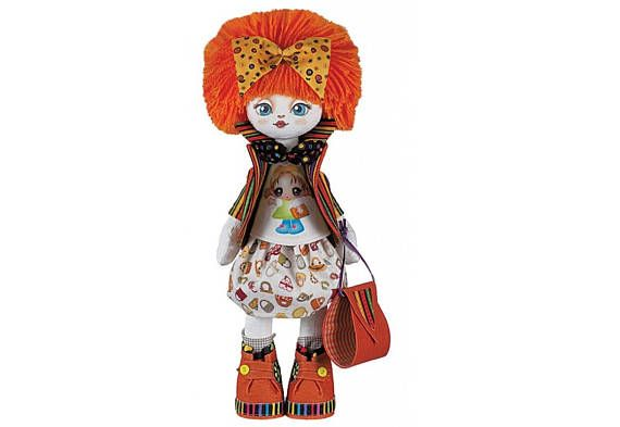 Doll Girlfriend Doll sewing kit    Nova Sloboda Kit to make