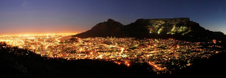 City By Night - Cape Town