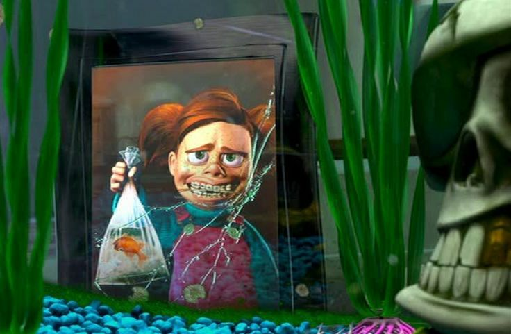 the girl fish from finding nemo Finding nemo is a 2003 american computer-animated film produced by pixar animation meanwhile, nemo is placed in a fish tank in a dentist's office, where he meets the tank gang, led by gill they learn nemo is to be given to the dentist's.