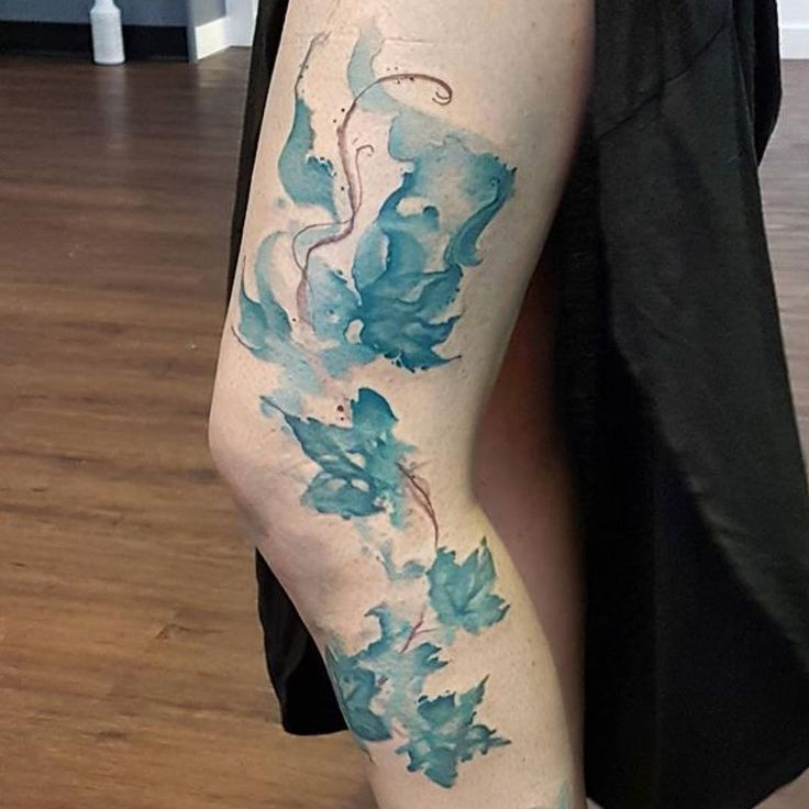 28 Nice Aqua Color Tattoos: 11 Best Watercolor Tattoos Images On Pinterest