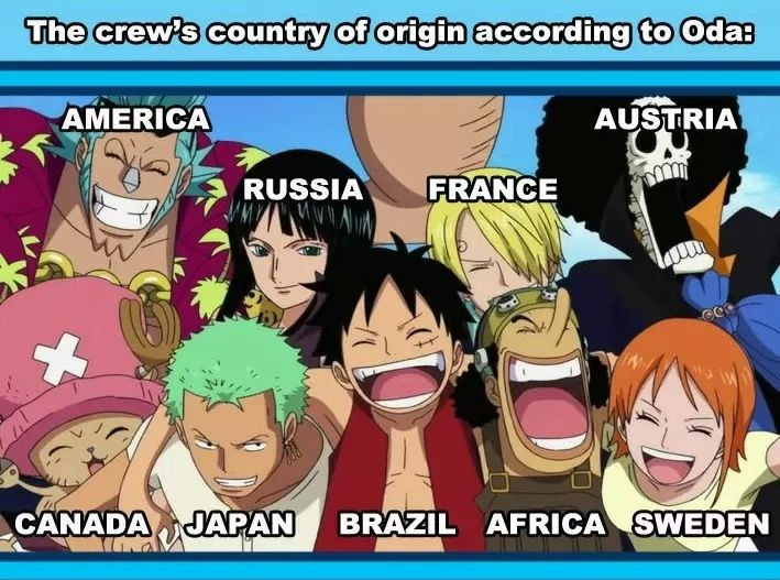 One Piece... Why Usopp gotta be Africa? Cause he black?! Africa ain't even a country! Lol!