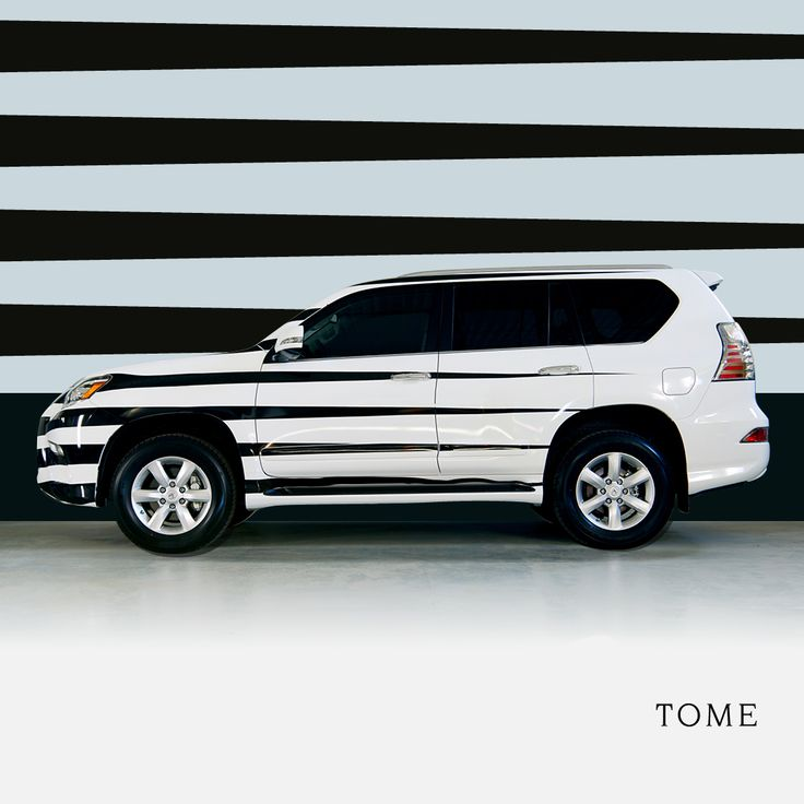 Modern Design By TOME Displayed On The Lexus GX During NYFW. Click Through  To Explore